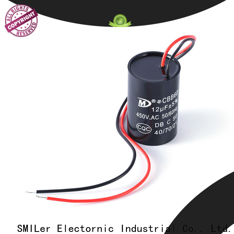 SMiLer dishwashing aluminum capacitor suppliers for air conditioner