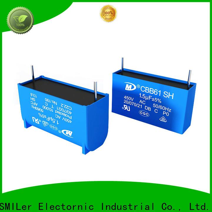 SMiLer starting 102k capacitor suppliers for motor