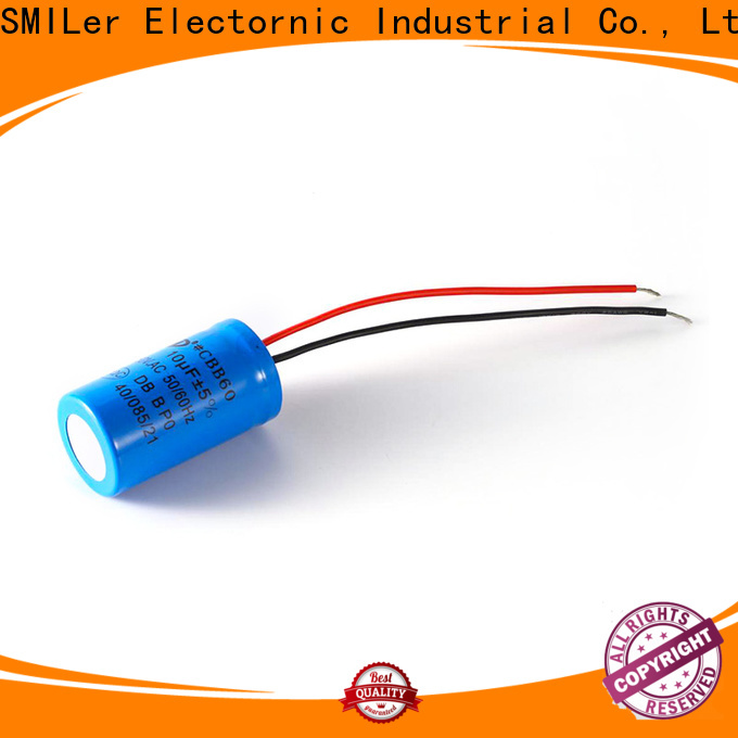 SMiLer capacitor 500 farad capacitor supply for dual machine motor
