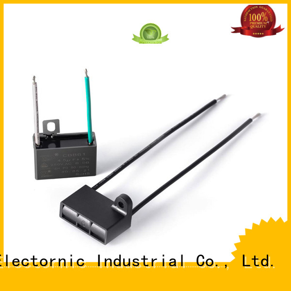 Wholesale double capacitor single phase motor paper company for electric car