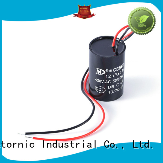 Wholesale tumble dryer capacitor replacement dishwashing factory for motor