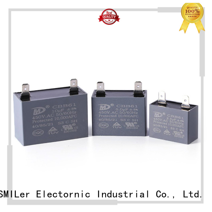 SMiLer High-quality cap start motor suppliers for fan