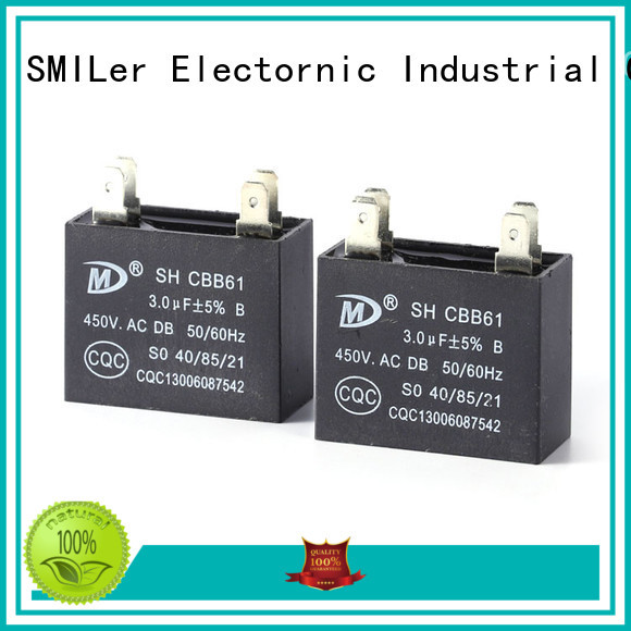 SMiLer board air conditioner run capacitor replacement supply for company