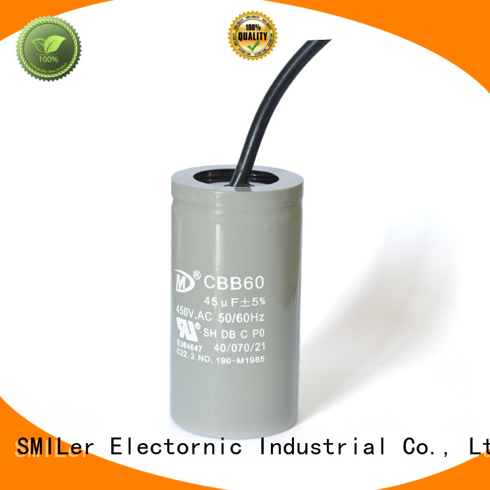 SMiLer Wholesale pool pump start capacitor company for industrial