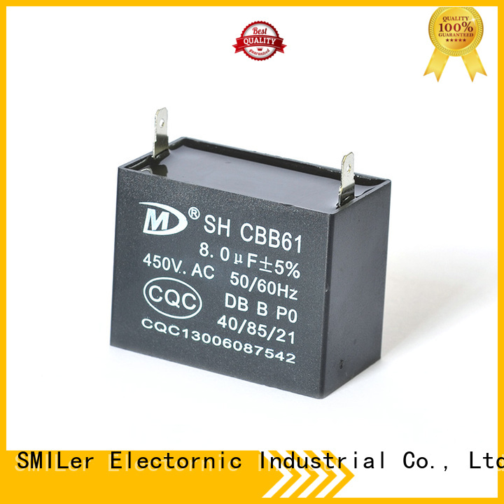 SMiLer Top small electric motor capacitor supply for furnace