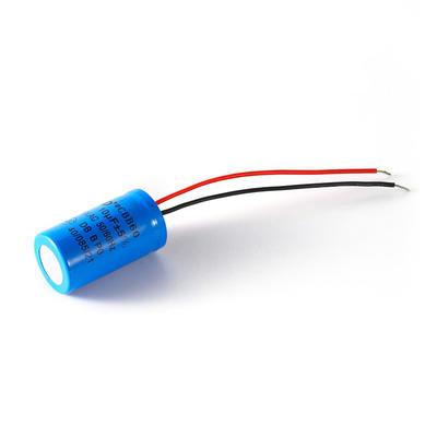 Dish-washing machine capacitor polarity