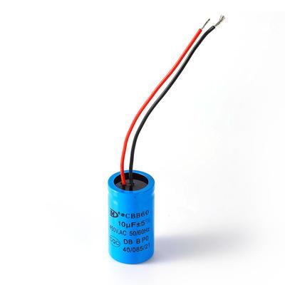 Start run motor capacitor running machine capacitor