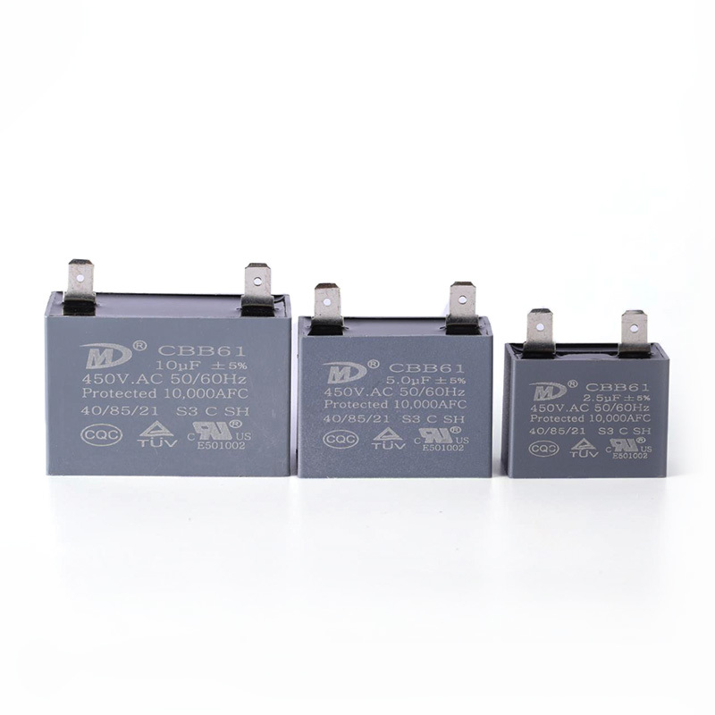 Ac fan run capacitor smoke exhaust capacitor