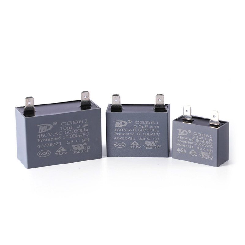 Motor capacitor water heater capacitor manufacturer