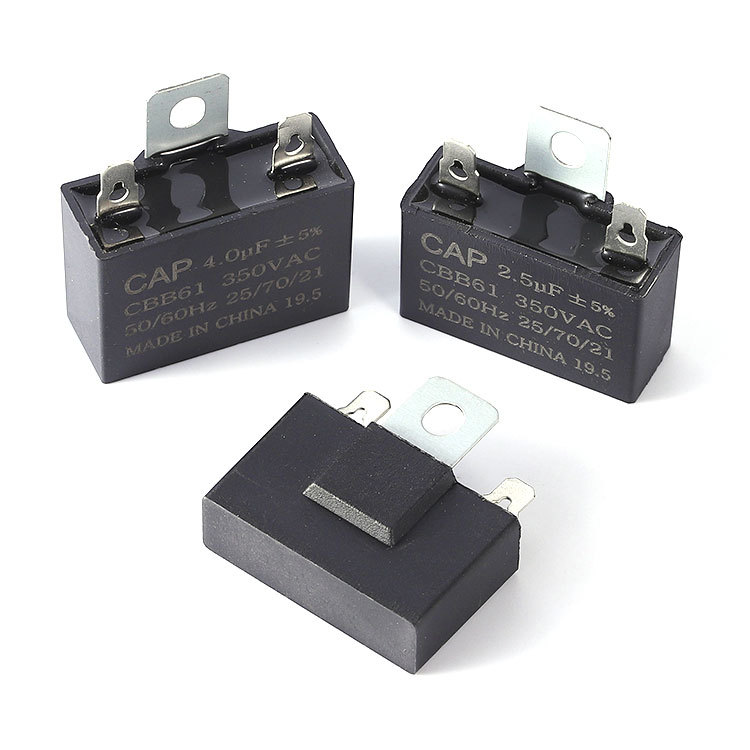 Juice machine compressor motor capacitor