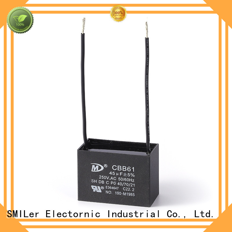 SMiLer New electric fan capacitor price suppliers for bike