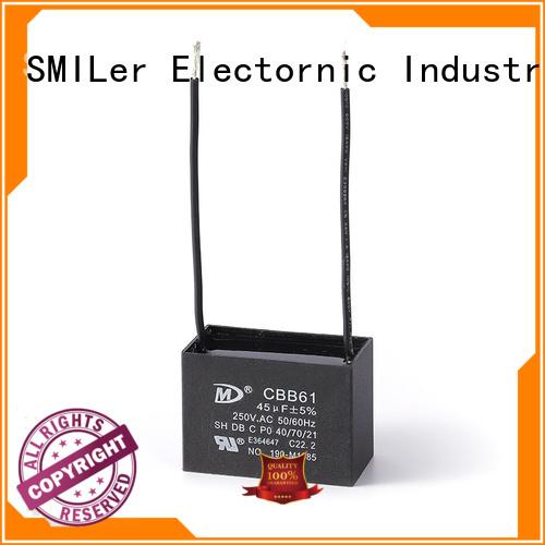 SMiLer Top ceiling fan motor capacitor factory for bike