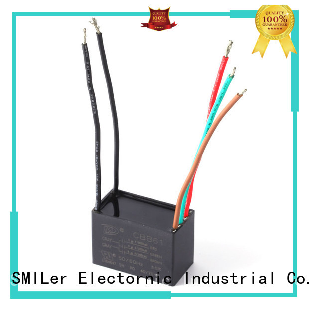 SMiLer industrial capacitor bank company for ceiling fan