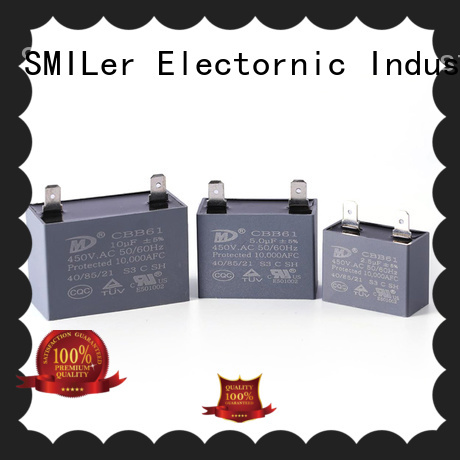 SMiLer Custom 16uf motor run capacitor suppliers for dryer machine