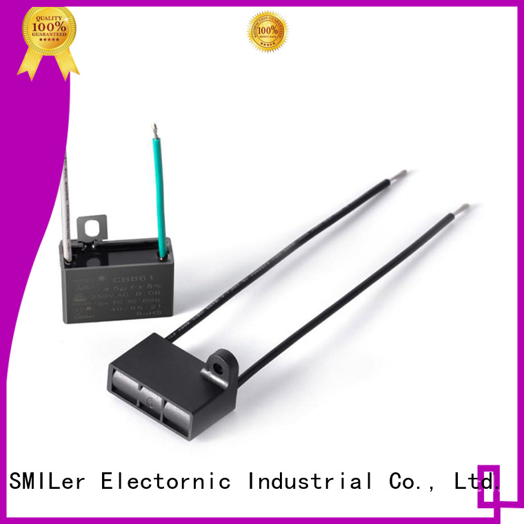 SMiLer High-quality permanent split capacitor motor for business for electric car