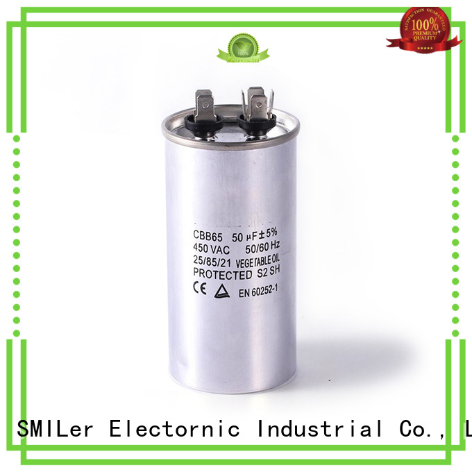 SMiLer Custom central air conditioner capacitor cost factory for company