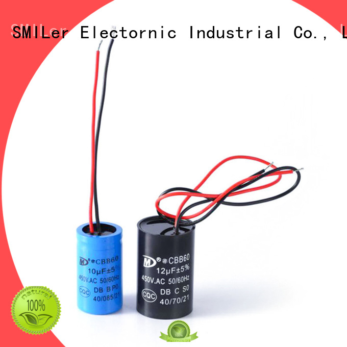 SMiLer New air conditioner blower motor capacitor supply for furnace