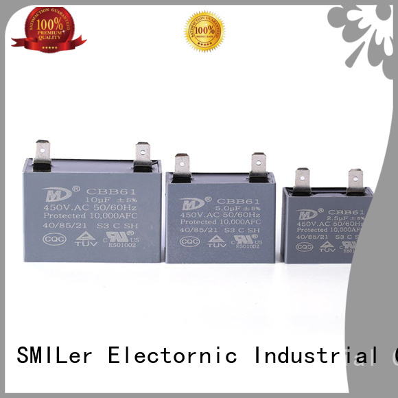 SMiLer Top stiffening capacitor company for rv air conditioner