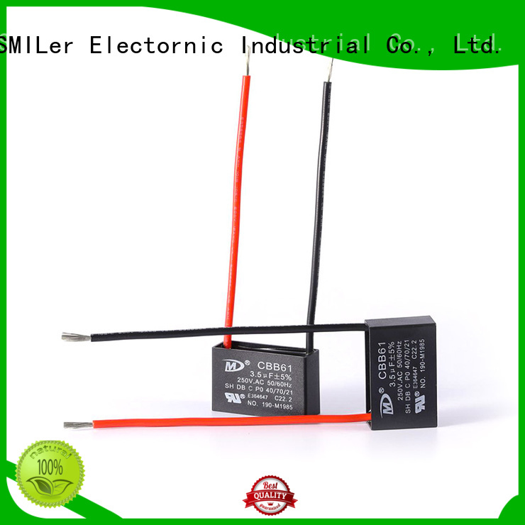 SMiLer Custom speaker capacitor factory for rv air conditioner