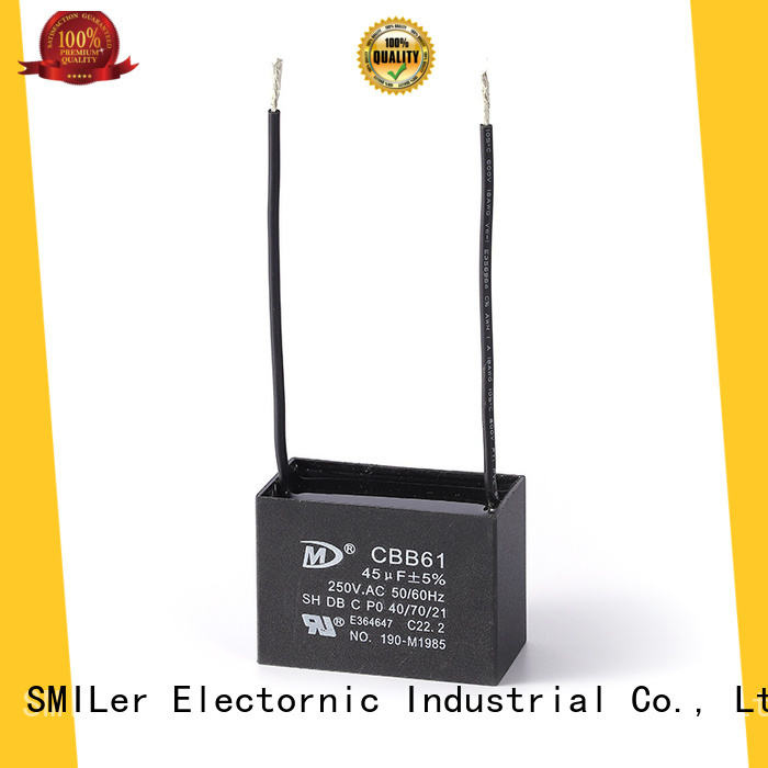 SMiLer run run capacitors for sale suppliers for ac unit