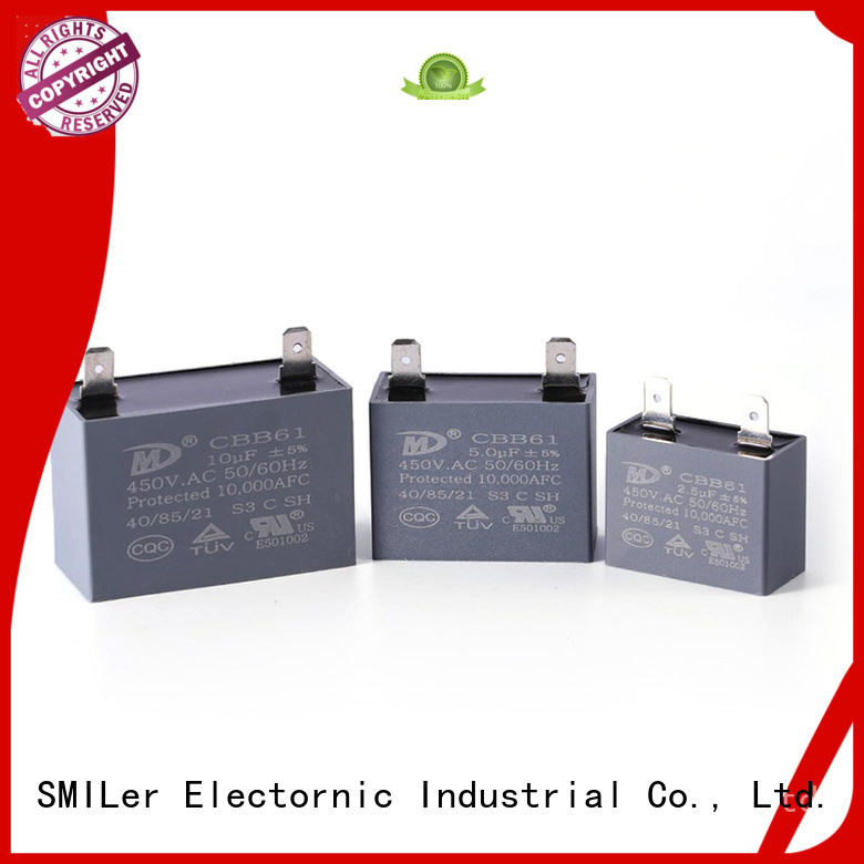SMiLer Latest motor capacitors for sale company for electric car