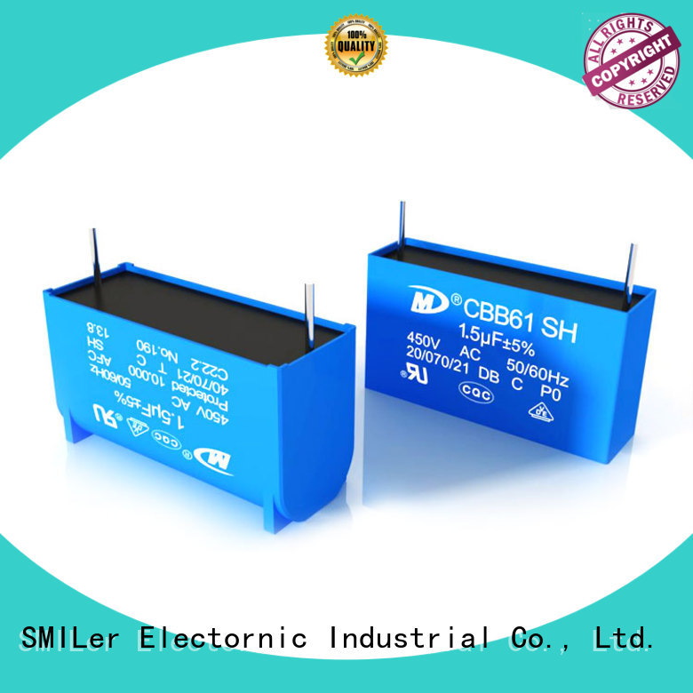 SMiLer Best capacitor for split air conditioner suppliers for bike