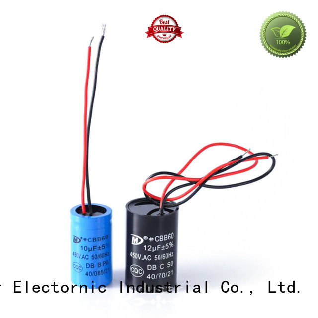 SMiLer electric motor start capacitor replacement factory for dryer machine