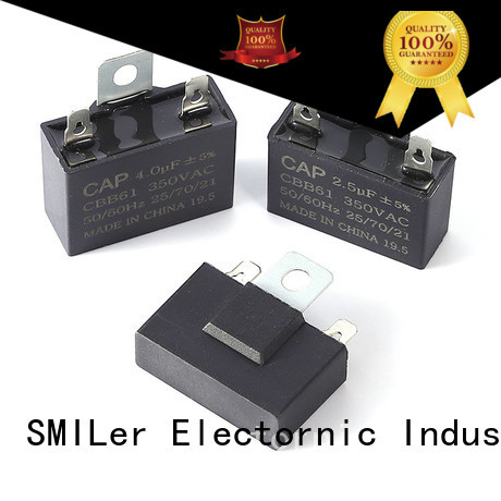 SMiLer heater motor capacitor suppliers manufacturers for dryer machine