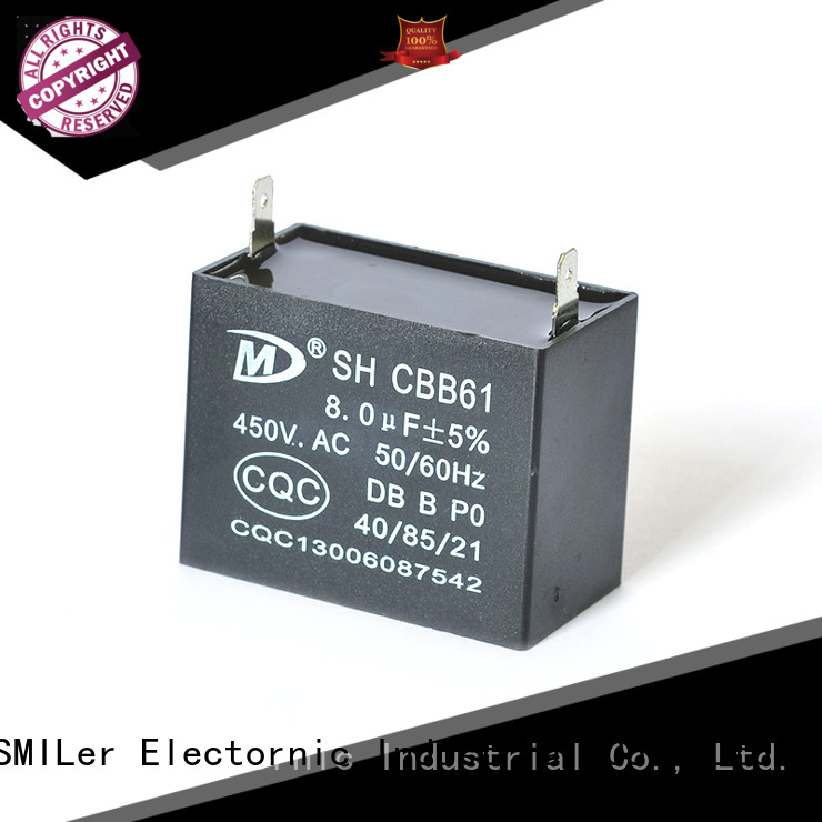 SMiLer Custom 1hp motor capacitor supply for fan