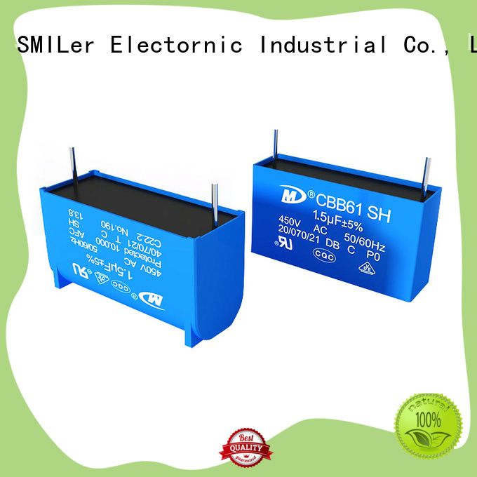 SMiLer capacitor can capacitor factory for air conditioner
