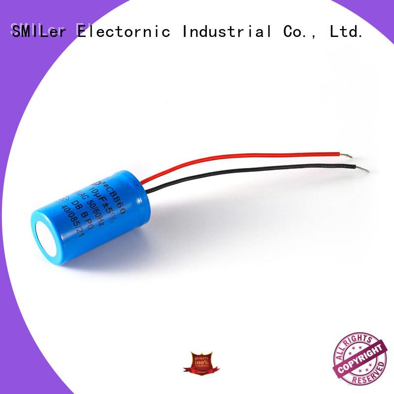 SMiLer dishwashing electrolytic capacitor suppliers for motor