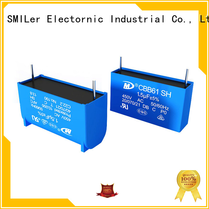 SMiLer Latest capacitor disposal supply for fan
