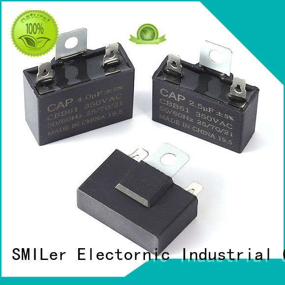 SMiLer Top buy electric motor capacitor suppliers for electric car