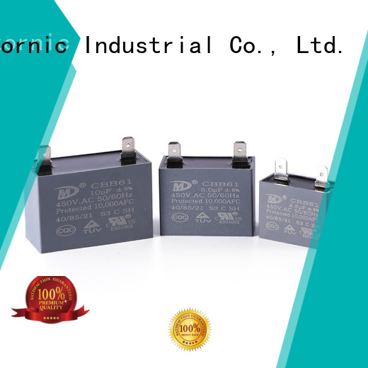 High-quality air conditioner motor run capacitor condenser company for fan