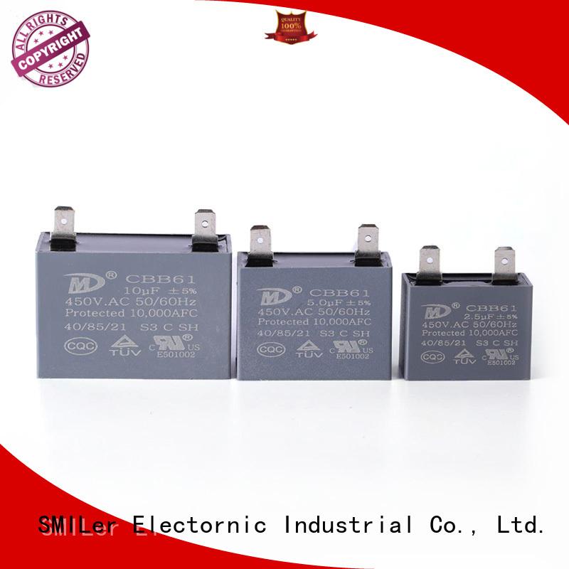 SMiLer Best capacitor 400v company for bike