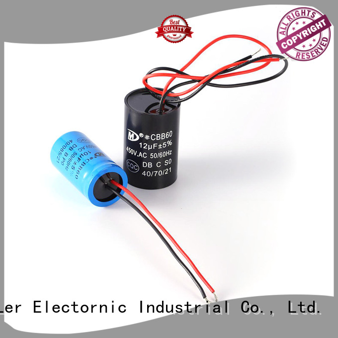 Wholesale capacitor start capacitor run motor capacitor suppliers for electric car