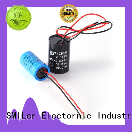 SMiLer Top 110v motor start capacitor company for dryer machine