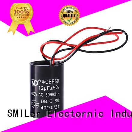 SMiLer electric motor start and run capacitors company for furnace