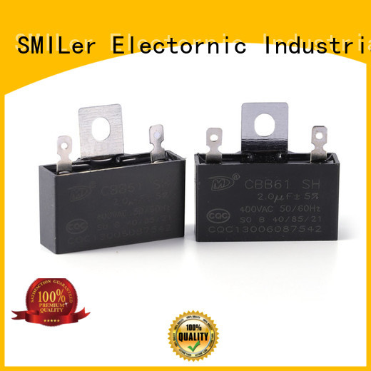 SMiLer New air conditioner run capacitor suppliers for ceiling fan