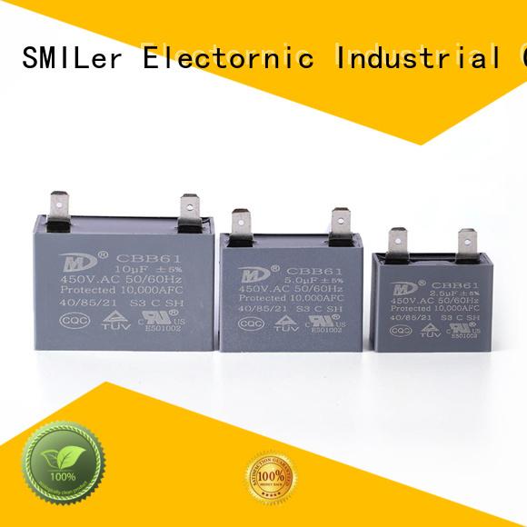 SMiLer High-quality air compressor capacitor company for ac unit
