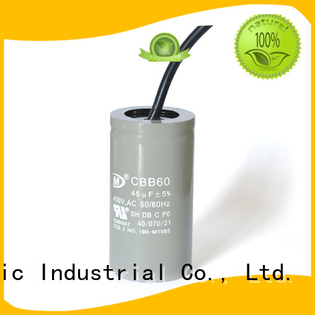 SMiLer Top irrigation pump capacitor company for motor