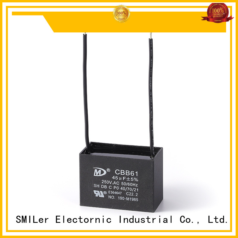 SMiLer ventilating central air capacitor company for bike