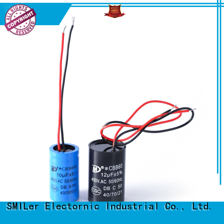 New fan motor run capacitor motor manufacturers for fan