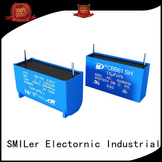 SMiLer air mkp capacitor factory for industrial
