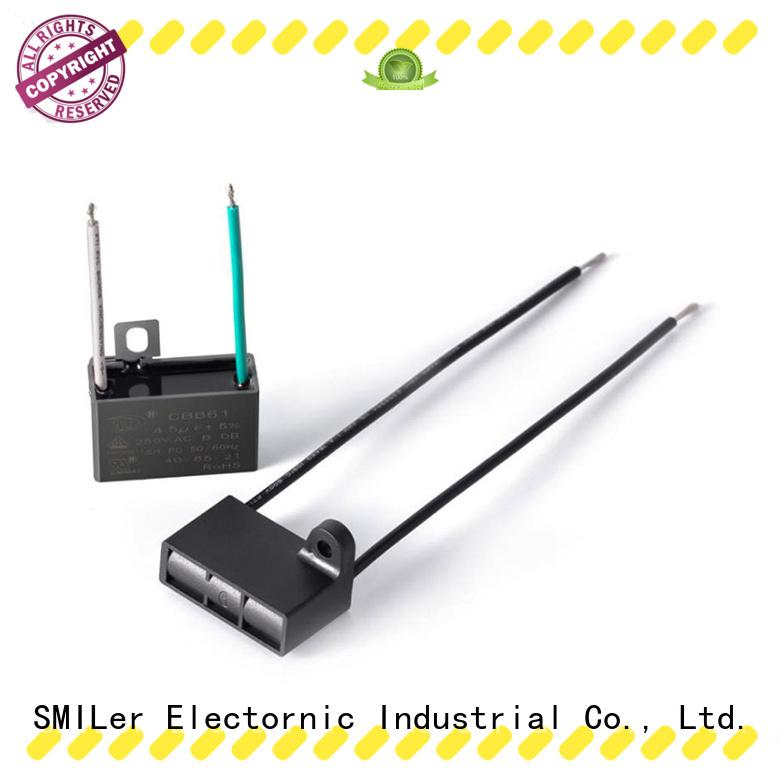 SMiLer tool motor capacitors near me factory for electric car
