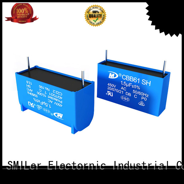 SMiLer capacitor non polarised capacitor symbol for business for motor